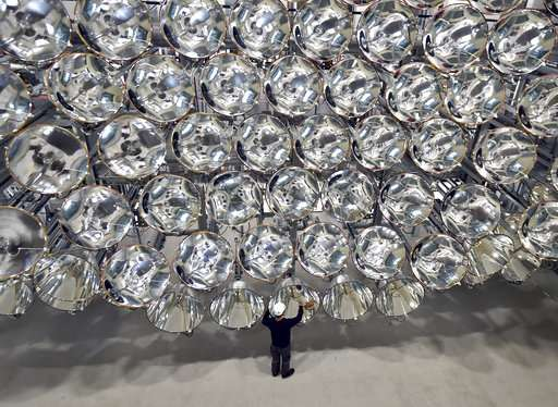 Let there be Light: German Scientists test 'Artificial Sun'