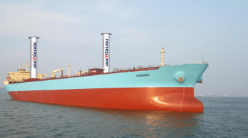 Spinning Sail Technology is poised to bring back Wind-powered Ships