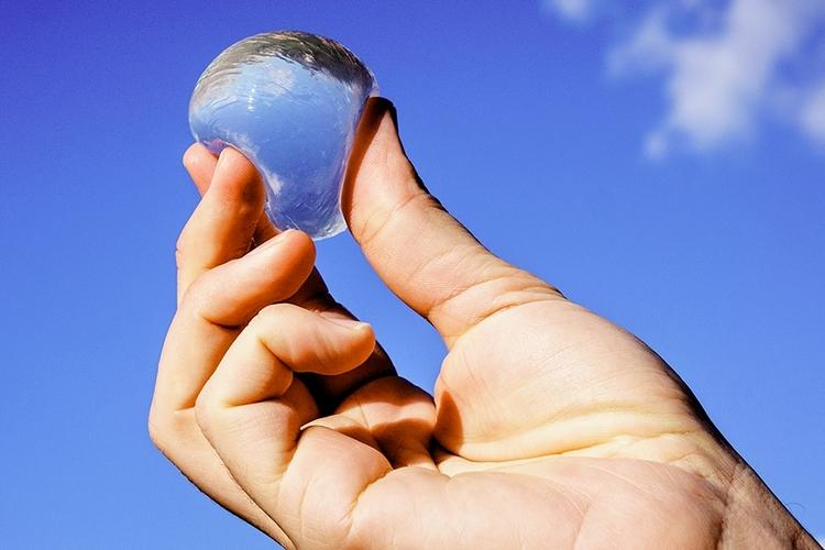 Edible water Bottle